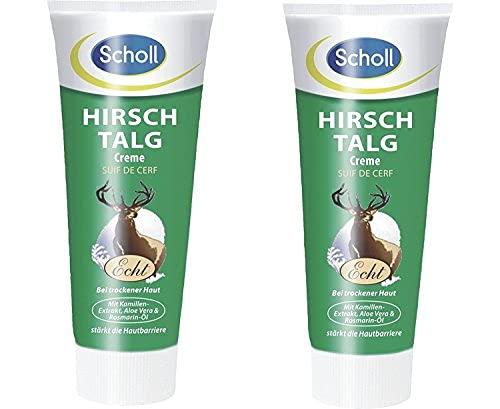 2 x Scholl Hirschtalg Creme 100ml