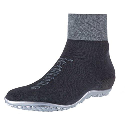 leguano Primera schwarz | Barfußschuhe | Die Barfuß-Socken für Kinder, Damen und Herren