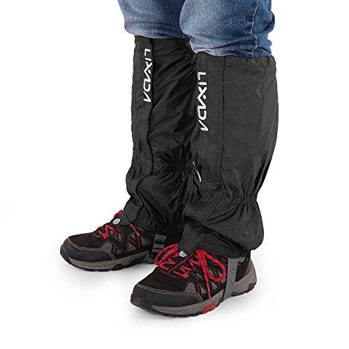 Lixada Gamaschen Unisex mit Reißverschluss für Radfahren Snowboarden Wandern