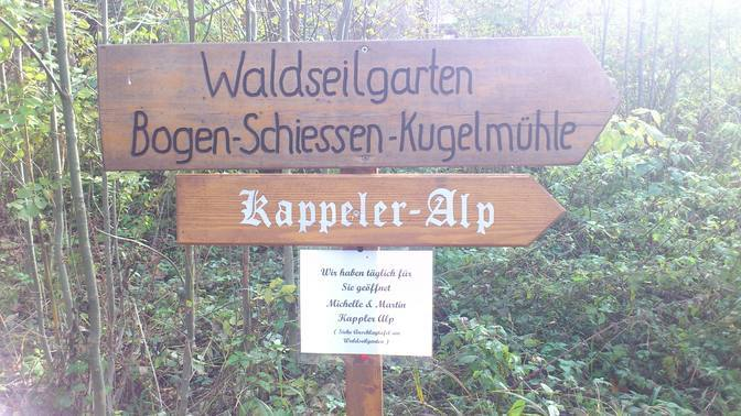Barfuß auf die Kappeler Alp bei Pfronten