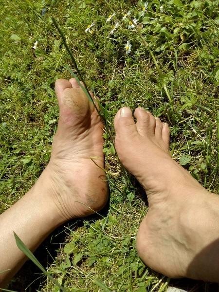 1-Fuesse nach 1 Jahr barfußlaufen