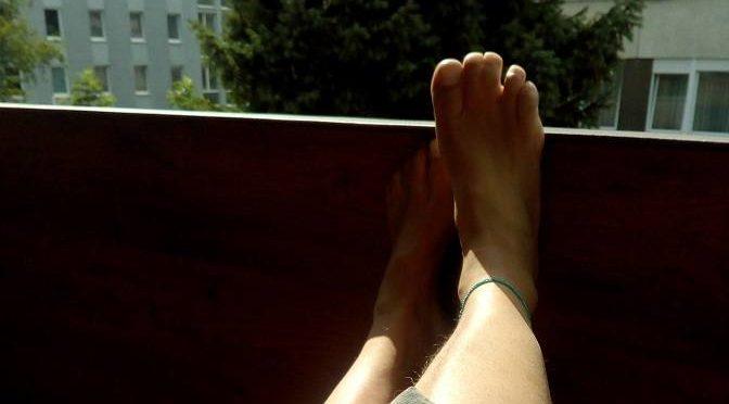Veränderungen der Fußsohlen während des Winters