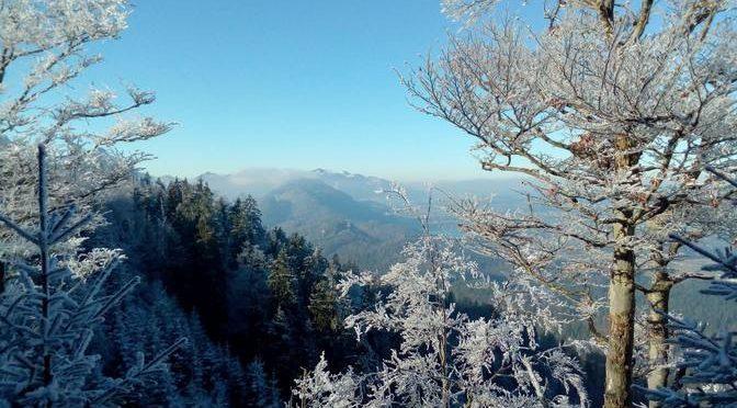 Winterspaziergang Dreiländereck Schwarzenberg