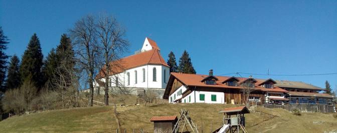Die Kapelle auf dem Auerberg