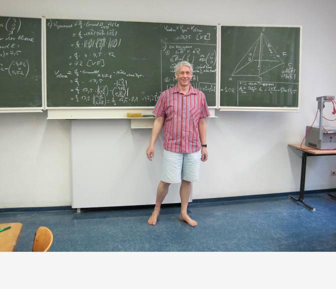 Hans-Jörg Himmeröder – Lehrer mit Bodenhaftung