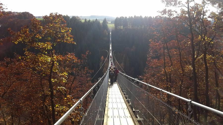 Hängebrücke Moersdorf