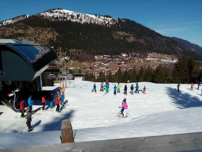 Kinderskischule am Oberjoch