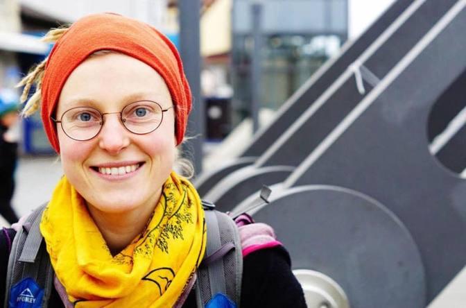 Alina Flechthexe – Meine Füße Unverpackt in Bamberg