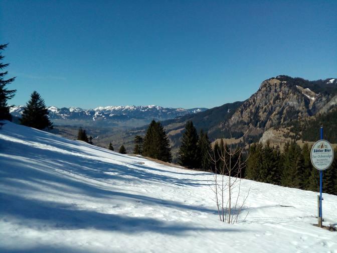 Oberjoch Wanderung zur Unteren Ochsen-Alpe 1200m