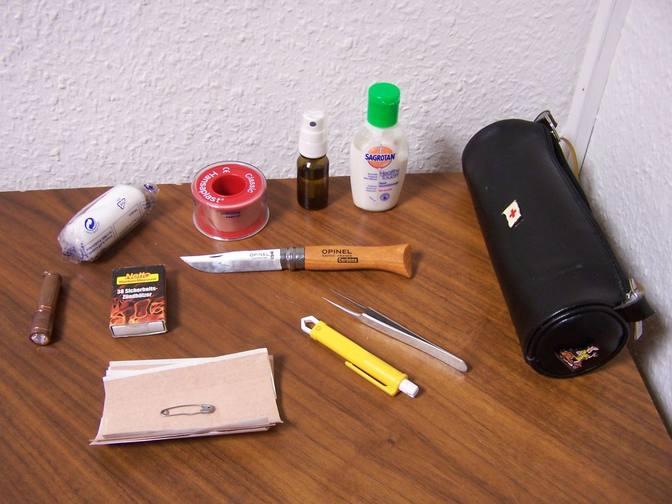 Mein Notfallmäppchen als Erste-Hilfe-Set