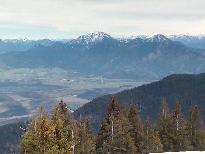 Blick ins Murnauer Tal
