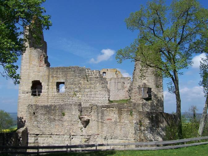 Ein Teil der Burgruine 2
