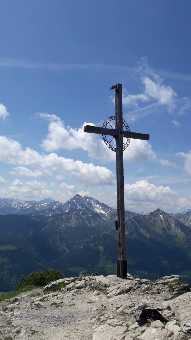 Gipfelkreuz Einstein