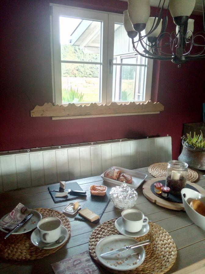 Frühstück in der River Lounge