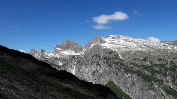 Weg auf den Kanzberg