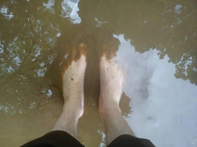 Fußwaschpfütze