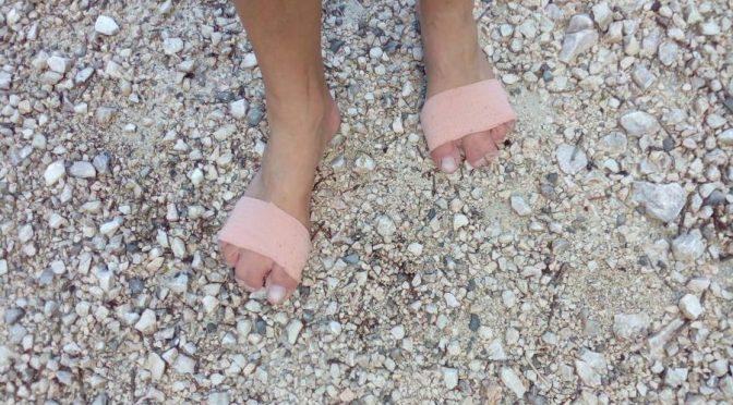Getapte Füße