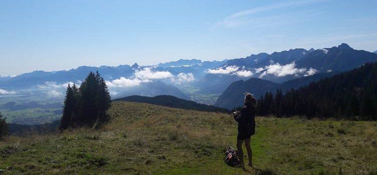 Barfuß auf Alpspitz und Edelsberg bei Nesselwang