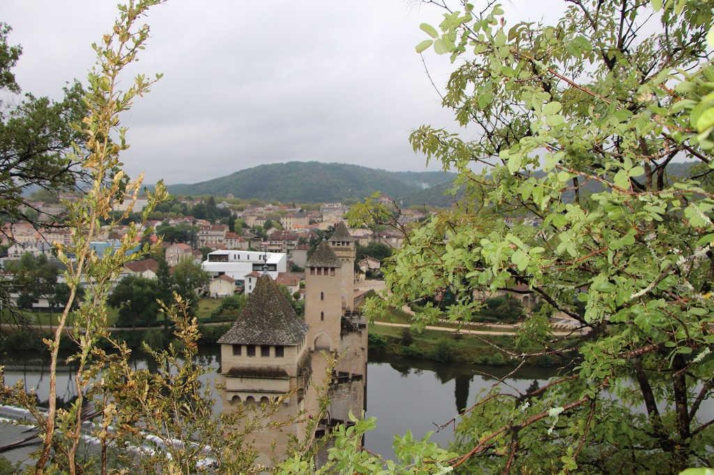 Blick auf Cahors