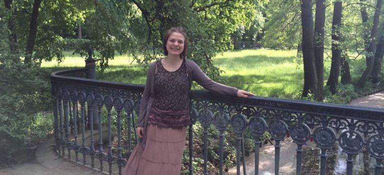 Elisabeth mit 18 Jahren