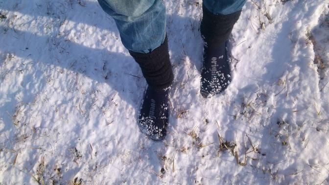 Mit Minimalschuhen gut durch den Winter