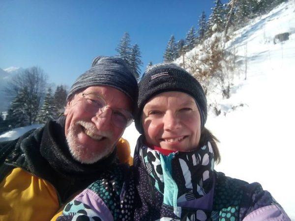 Wolfgang und Eva mit ihrem Winter-Tipp
