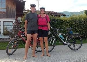 Tipps zum barfuß Radfahren von Eva und Wolfgang