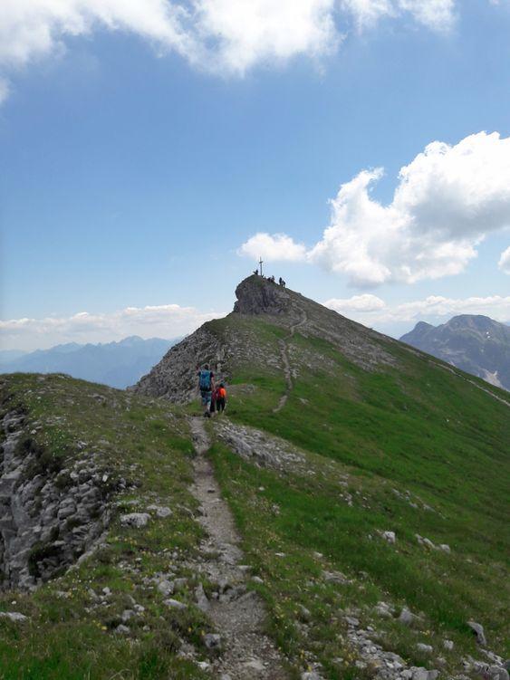 Pfad zum Gipfel