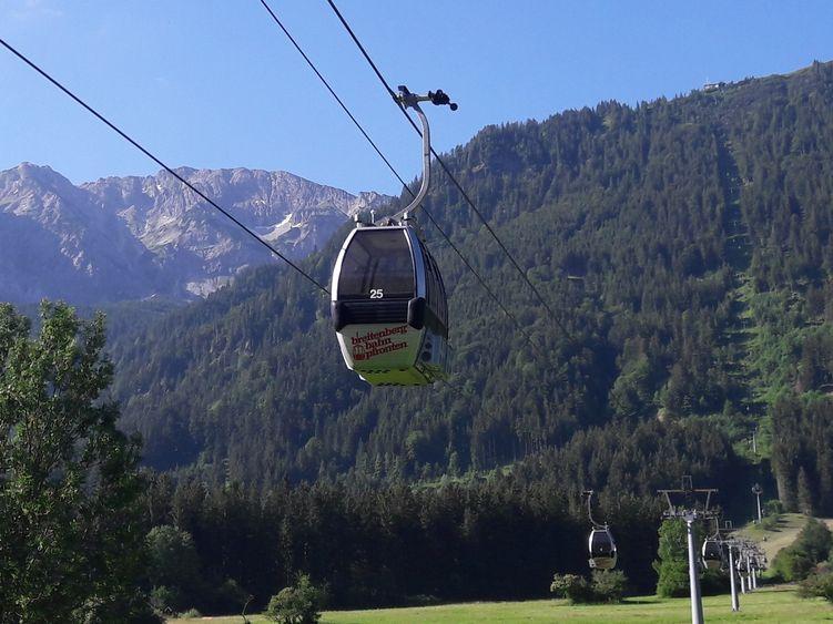 Seilbahn auf den Breitenberg