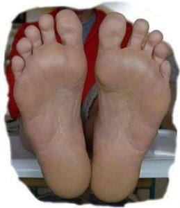 Wolfgangs Füße für das Widget