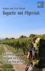 Der Einband des Buches Baguette und Pilgerstab