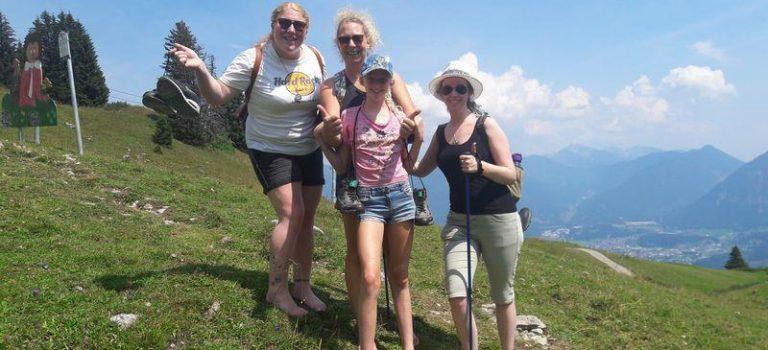 Barfußpfad im Hochgebirge – Hahnenkamm Reutte