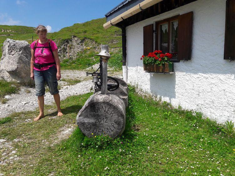 Wanderung zur Gräner Ödenalpe unterhalb der Krinnenspitze, Tannheimer Berge