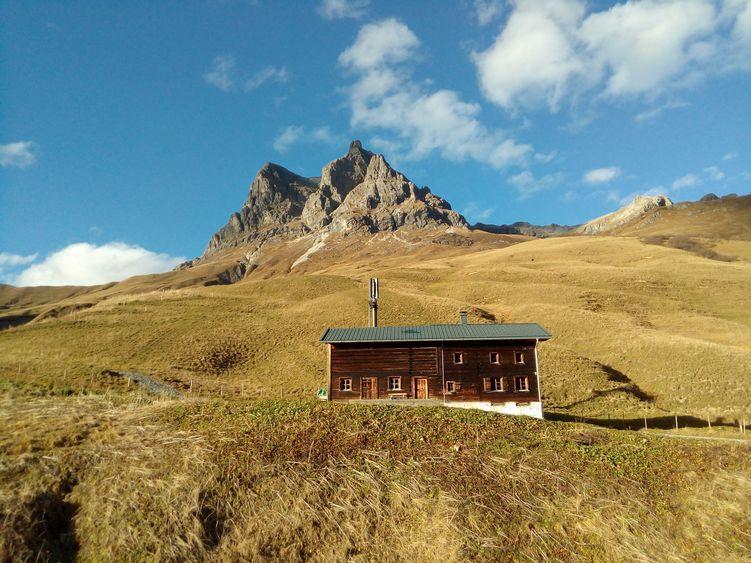 Am Großen Widderstein im Vorarlberg