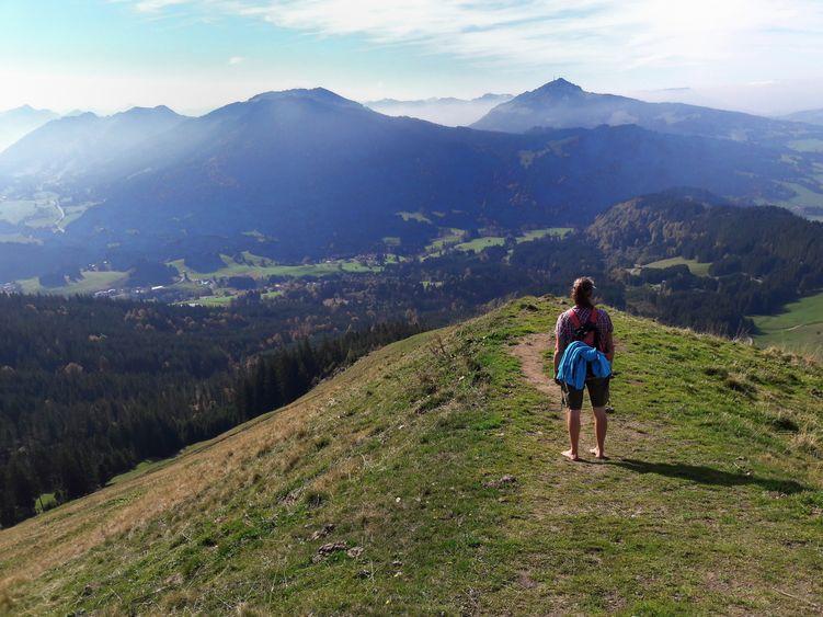 """Anfang Oktober auf der """"Reuter Wanne"""" bei Jungholz, Tirol"""