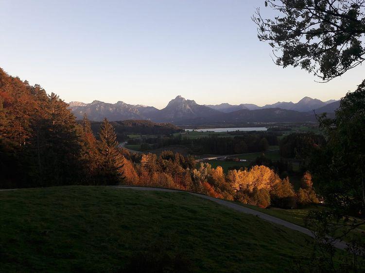 Der goldene Herbst auf der Alpe Beichelstein