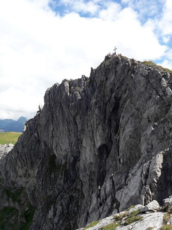 Gipfel der Schochenspitze, Tannheimer Berge