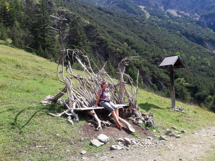 Auf dem Weg zur Roßgumpenalm bei Holzgau, Tirol