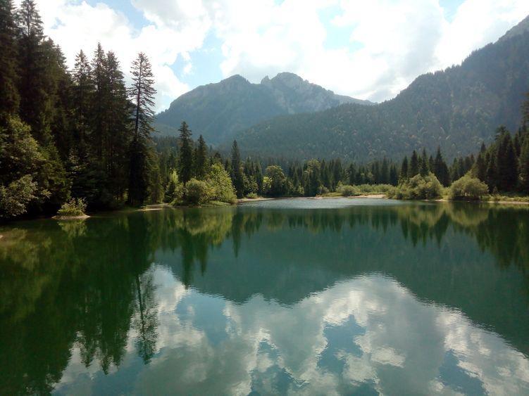 Wanderung durch die Bockstallschlucht im Kenzental, Ammergauer Berge