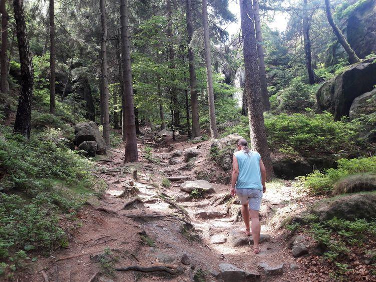 Barfußfreund Ulrich im Zittauer Gebirge