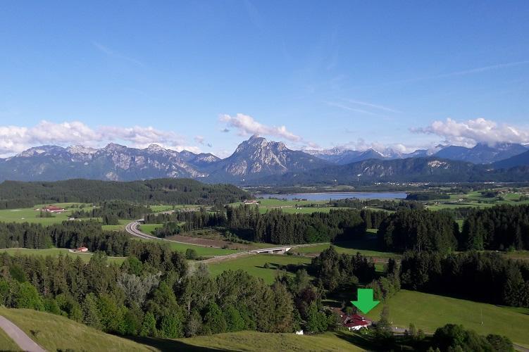 Unser neues Zuhause am Fuße der Alpe Beichelstein
