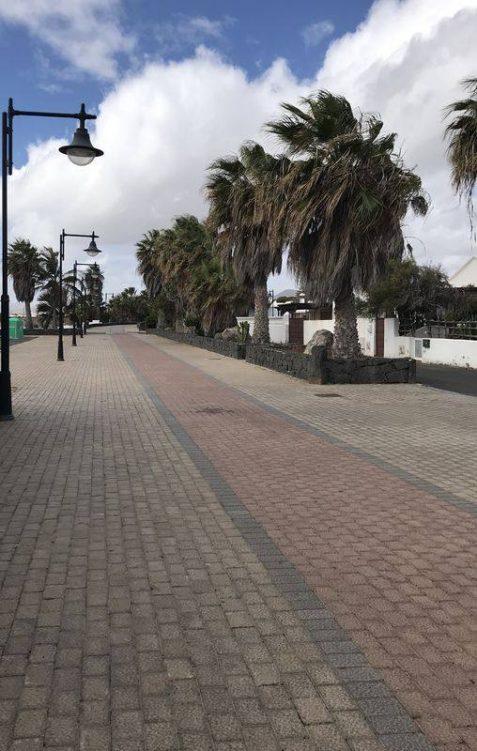 Promenadenweg von Arrecife nach Puerto del Carmen