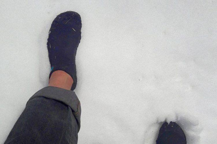 Skinners im Schnee