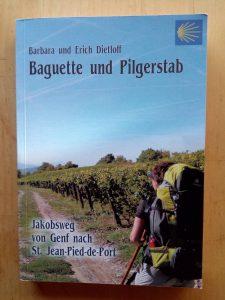 Baguette und Pilgerstab
