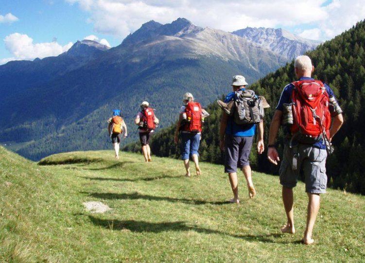 Mit einer Wandergruppe in den Dolomiten
