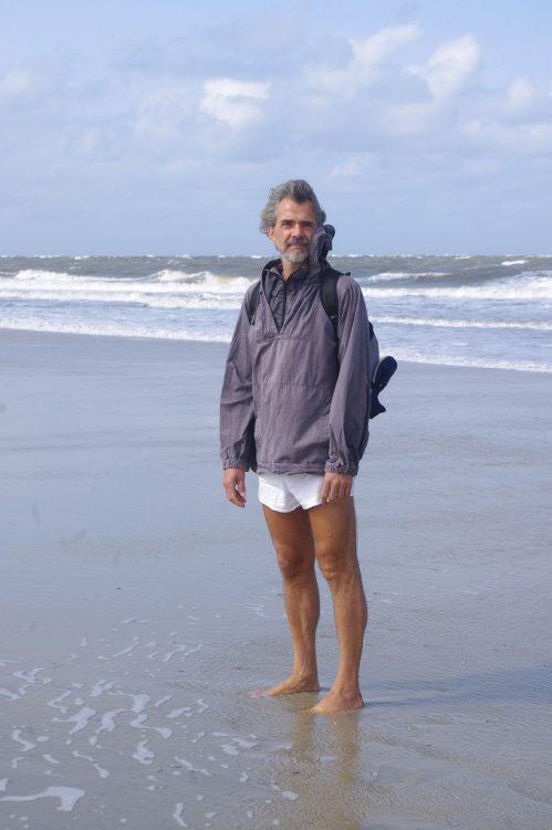 Thomas kommt gerne zum Joggen an den Strand von Amrum