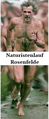 Thomas beim Naturistenlauf in Rosenfelde