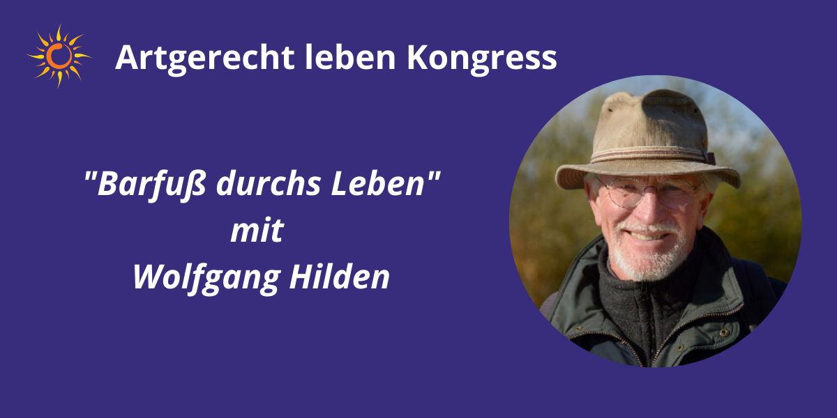 Wolfgang und Barfuß im Artgerecht Leben Kongress