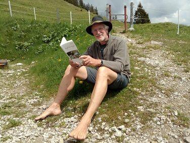 Barfuss. Mach mit uns sei dabei. Wolfgang stellt sein Buch vor.