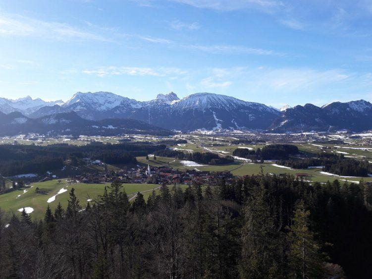 Panorama Allgäuwinter